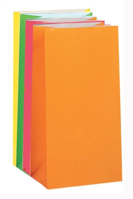 Multi-Coloured Paper Sweet Bags 10pk