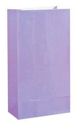Lavender Paper Sweet Bags 12pk