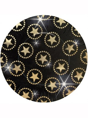 Star Attraction Paper Plates 8pk
