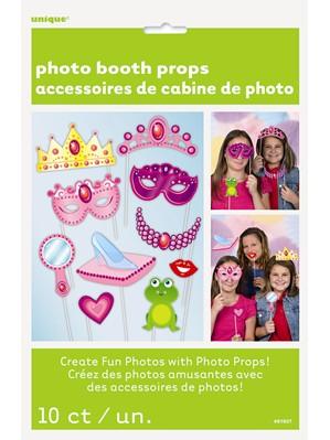 Princess Party Photo Props 10pk