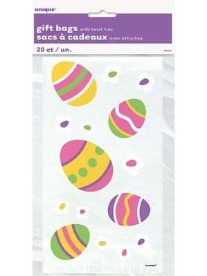 Small Easter Egg Cello Bags 20pk