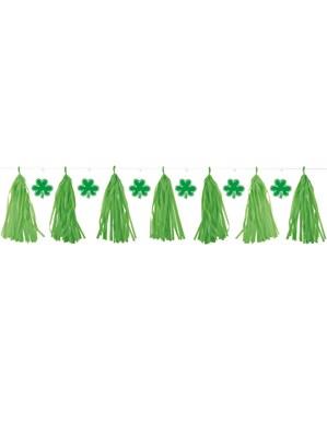 St. Patrick's Day Tassel Garland
