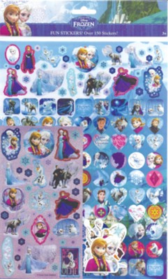 Frozen Sticker Bumper Pack 5pk