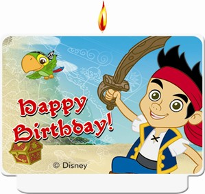 Jake And The Neverland Pirates Happy Birthday Candle