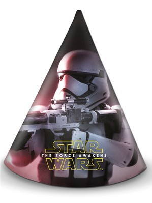 Star Wars The Force Awakens Party Hats 6pk