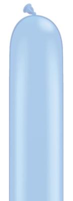 "260Q (2"" x 60"") Neon Blue Latex Modelling Balloons 100pk"