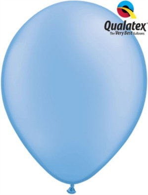 "11"" Neon Blue Latex Balloons - 100pk"