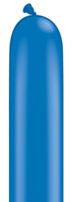 "260Q (2"" x 60"") Dark Blue Latex Modelling Balloons 100pk"