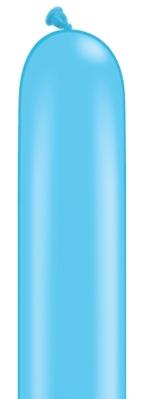 """260Q (2"""" x 60"""") Robin's Egg Blue Latex Modelling Balloons 100pk"""