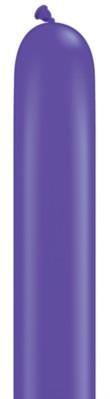 "260Q (2"" x 60"") Purple Violet Latex Modelling Balloons 100pk"