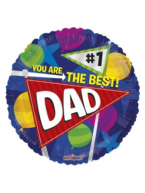 """You Are The Best Dad Father's Day 18"""" Foil"""
