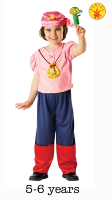 Izzy Jake & The Neverland Pirates Costume - Medium