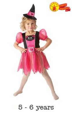 Halloween Fancy Dress Kitty Witch - Medium