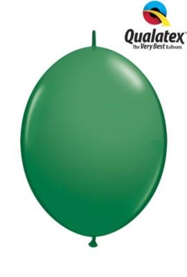 "6"" Green Quick Link Latex Balloons - 50pk"
