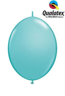 "6"" Caribbean Blue Quick Link Latex Balloons - 50pk"