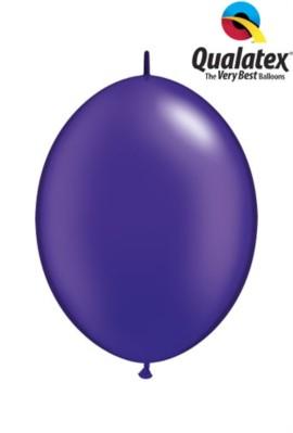 "6"" Pearl Quartz Purple Quick Link Latex Balloons - 50pk"