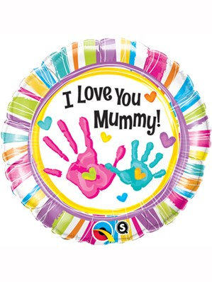 "Mother's Day I Love You Mummy! 18"" Foil Balloon"