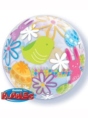 "Happy Easter 22"" Bubble Balloon"