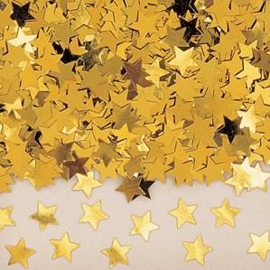 Gold Star Metallic Confetti 14g