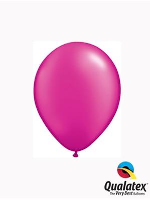 "5"" Pearl Magenta Latex Balloons 100pk"