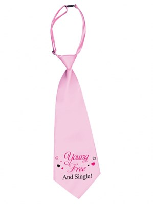 Hen Party 'Young, Free and Single' Tie