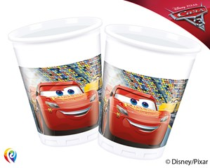 Disney Cars 3 Plastic Cups 8pk