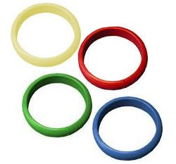 Bangle Balloon Weights, Blue, Yellow, Green and Red 100pk