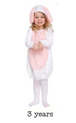Child Cute Bunny Rabbit Fancy Dress Costume - Toddler