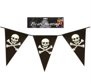 Pirate Skull & Cross Bones Bunting