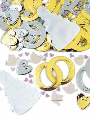 Bridal Bells Embossed Confetti