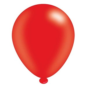 "Red 10"" Latex Balloons 8pk"