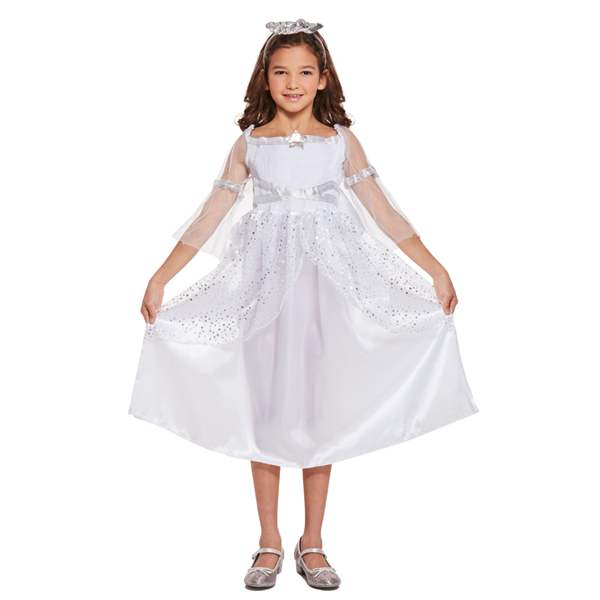 Children's Angel Christmas Nativity Costume Ages 4 - 12