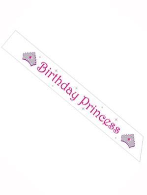 Birthday Princess Sash