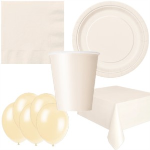 Ivory Bonus Party Pack for 8 people - 10 FREE BALLOONS