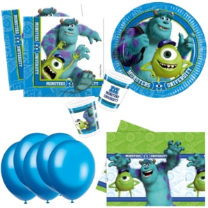 Monsters University Bonus Party Pack for 8 people - 10 FREE BALLOONS