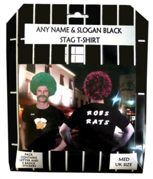 Personalised Stag Night T-Shirt