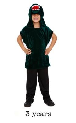 Children's Crocodile Fancy Dress Costume - Toddler