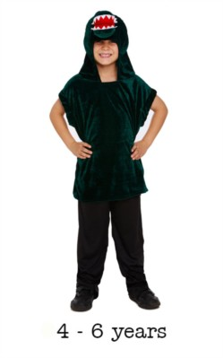 Children's Crocodile Fancy Dress Costume 4 - 6 yrs