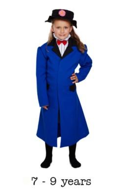 Children's Victorian Nanny Book Day Fancy Dress Costume 7 - 9 yrs