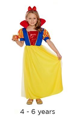 Child Snow Girl Fancy Dress Costume 4 - 6 yrs