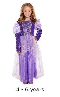 Children's Rapunzel Princess Book Day Fancy Dress Costume 4 - 6 yrs