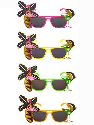 Luau Hawaiian Sunglasses Fancy Dress Accessory