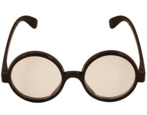 Fancy Dress Round Wizard Novelty Glasses