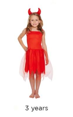 Halloween Little Devil Fancy Dress Costume - Toddler