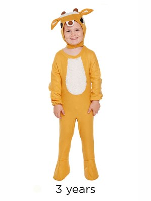 Christmas Reindeer Fancy Dress Costume - Toddler