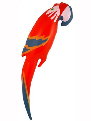 Inflatable Parrot 48cm