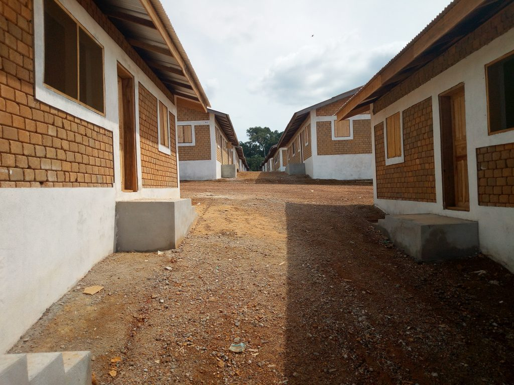 incomplete Resettlement houses