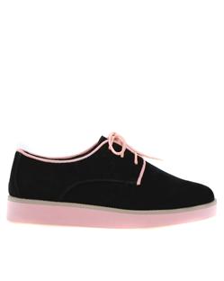 Skor, Sandy svart och rosa