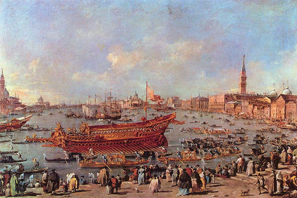 paintings of venice