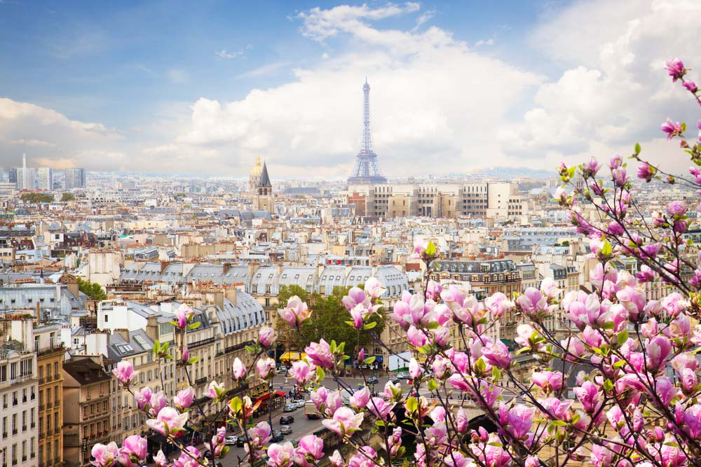 Paris is one of the romantic city breaks in Europe
